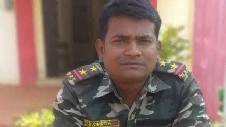 Chhattisgarh police subinspector SK Sharma died in the Pardhoni Maoist operation
