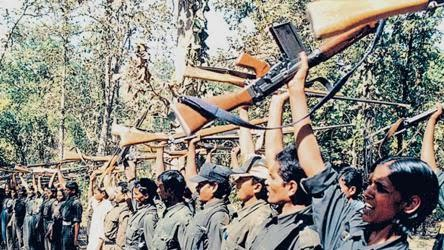 The meeting was part of threeday programme held by the Maoists in Chhattisgarh