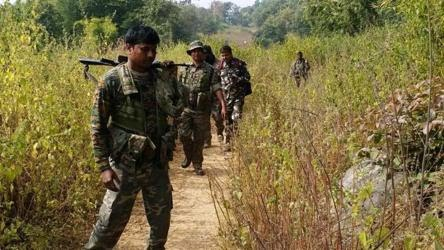The gunfight between the forces and Maoists took place in the Darbha forest area which falls under Kutru police station
